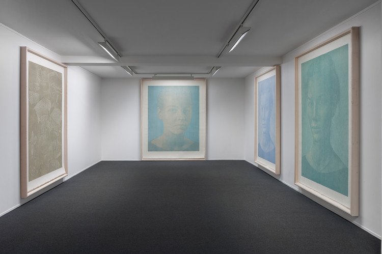 PORTRAITS AND LANDSCAPES : Woodcuts, Installation View